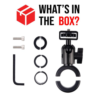 Enduro Series™ Motorcycle Action Camera Mount - What's in the box