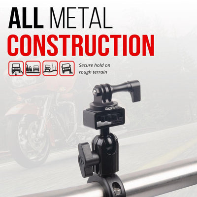 Enduro Series™ Motorcycle Action Camera Mount - All Metal Construction