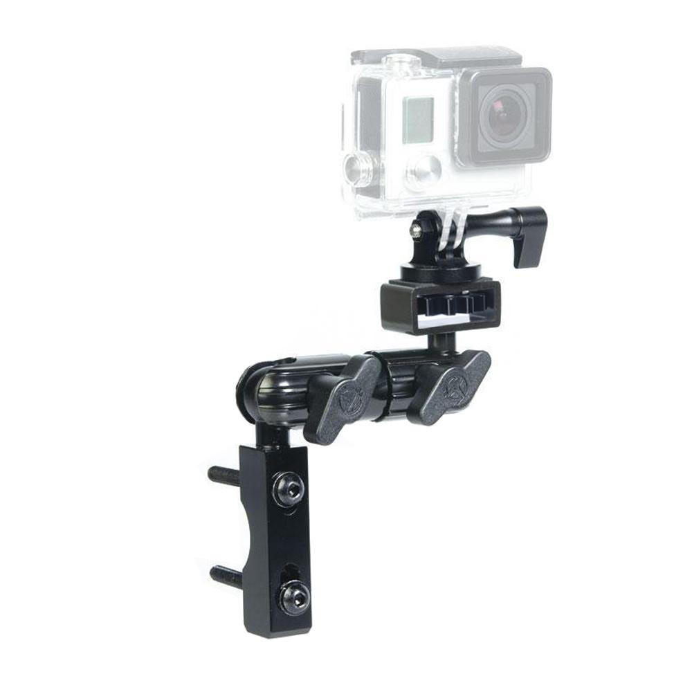 "GoPro Compatible Mount For Perch, Brake Or Clutch Reservoir | 3.5"" Arm 