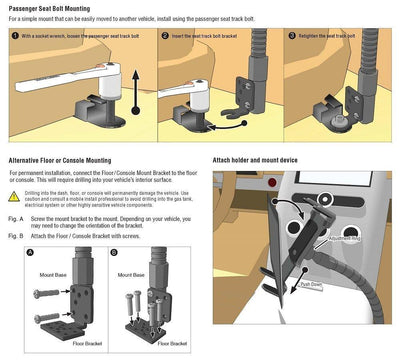 Tackform Tablet Mount Installation Instructions
