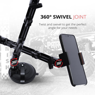 "Suction Cup Mount  | 10.5"" Modular Arm 
