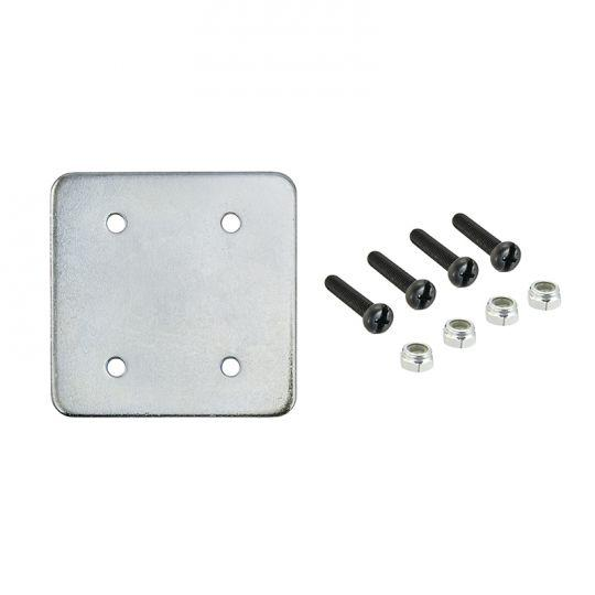Metal Installation Backing Plates for AMPS Drill Base Mounts