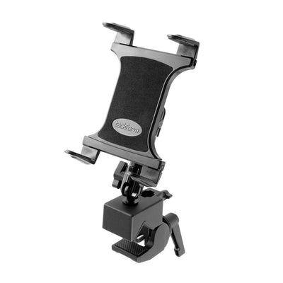 tackform-fit-clamp-fitness-tablet-mount-front-tilted-up-right-image