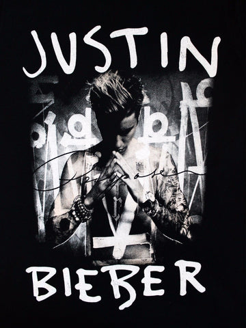 Justin Bieber Purpose Album Cover Womens Tshirt Touch Of
