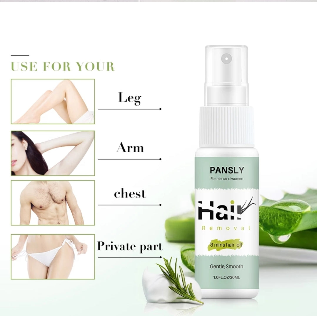 Organic Herbal Permanent Smooth Hair Removal