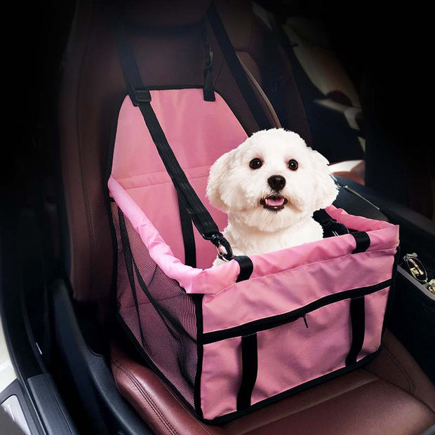 Waterproof Pet Carrier Dog Cat Car Safe Travel Seat