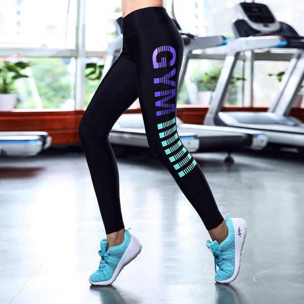 Printed Women outdoor workout Leggings
