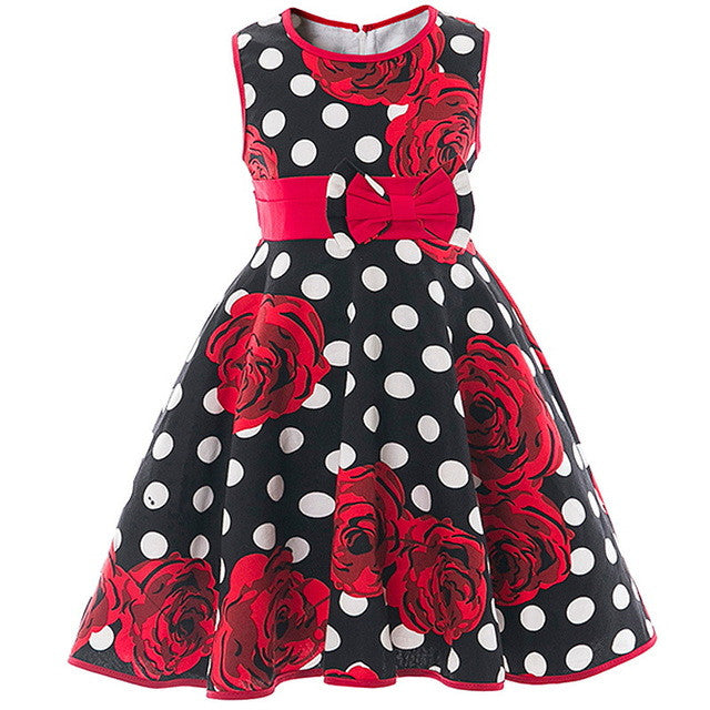 Little Princess Floral Printed Summer Frocks