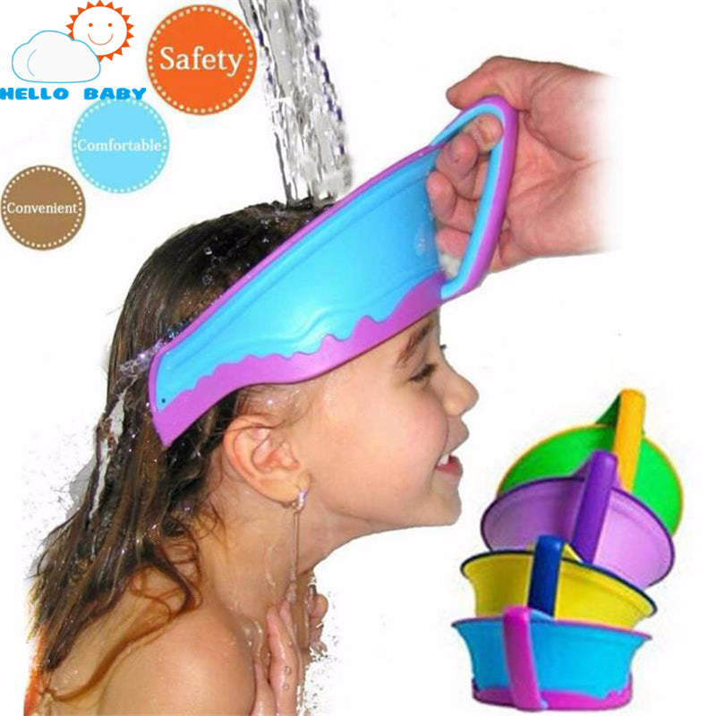 New Adjustable Baby Bath Hat Visor