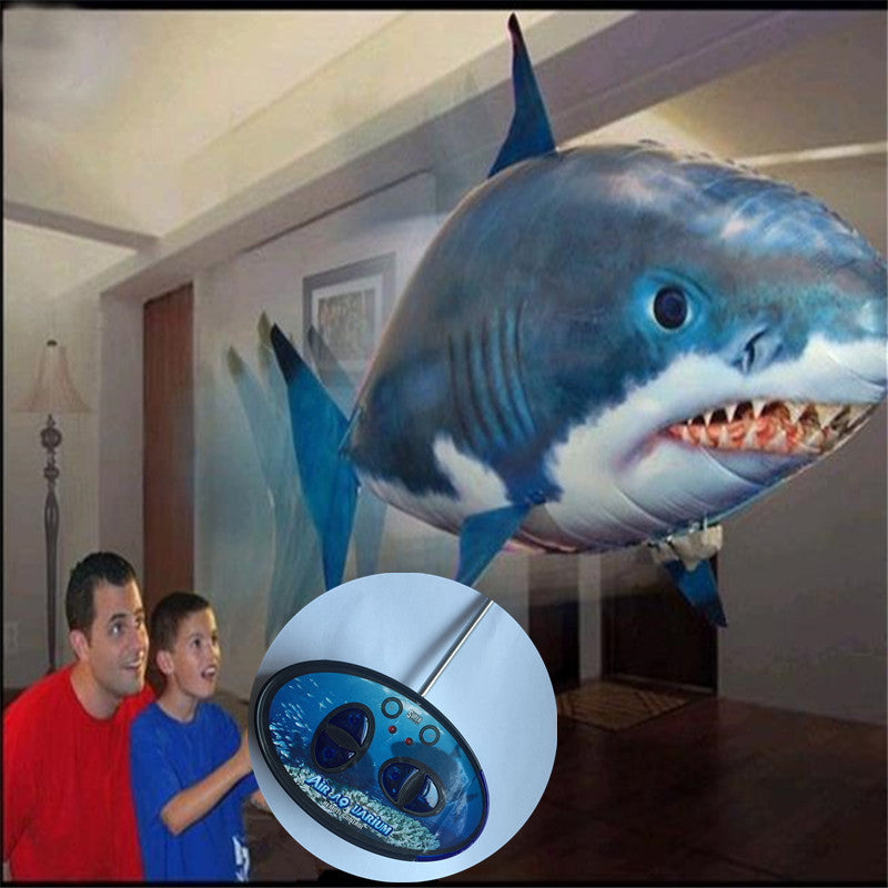 Remote Controlled Air Swimming Fish balloon