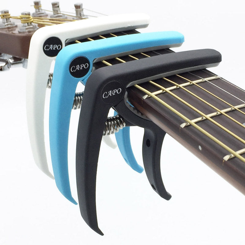 Plastic 6 String Acoustic Guitar Tuning Clamp