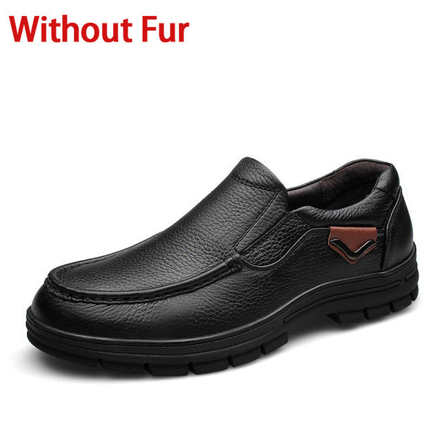 Men's Genuine Business Leather Shoes Sizes 38-47