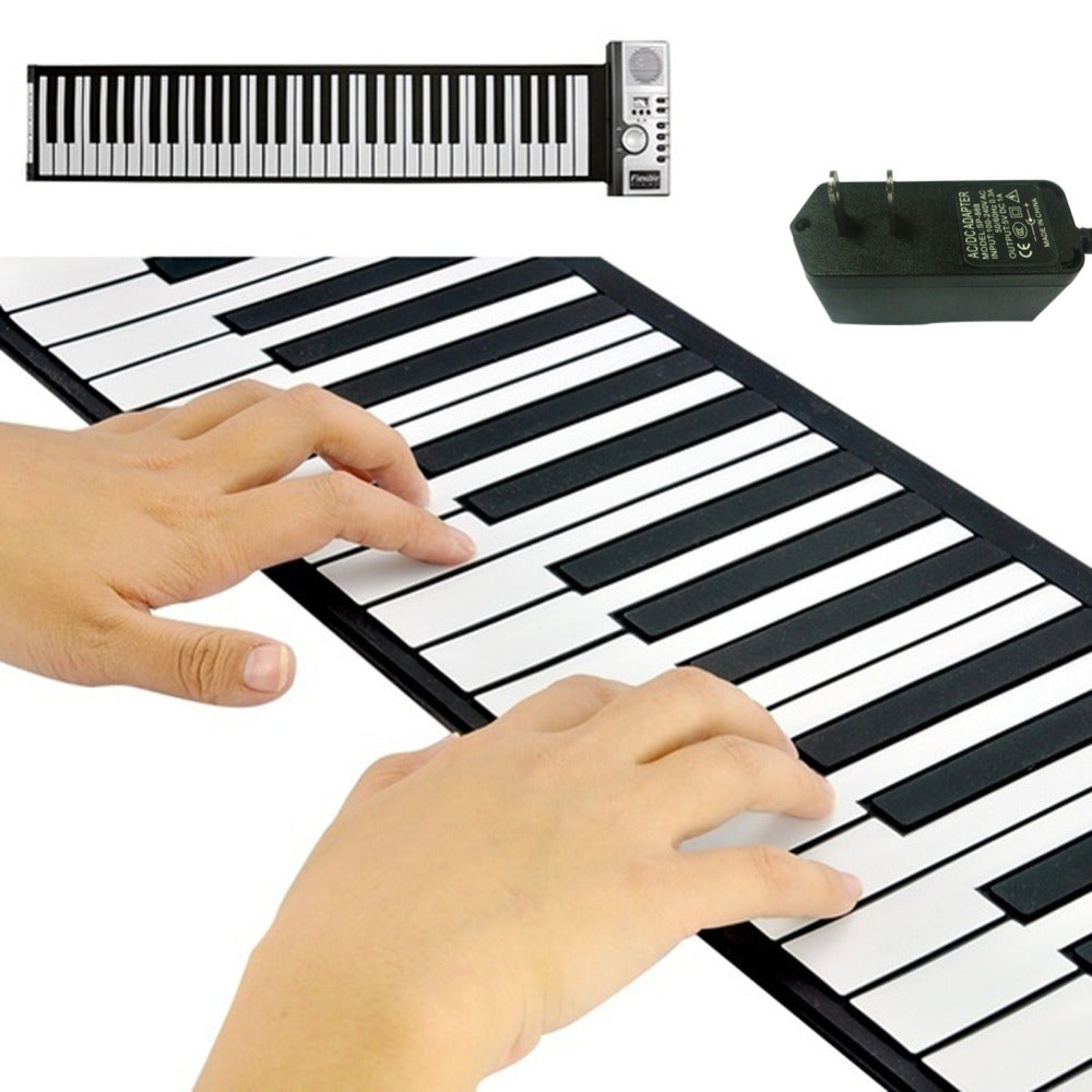 Portable Professional Electronic Roll Up Piano