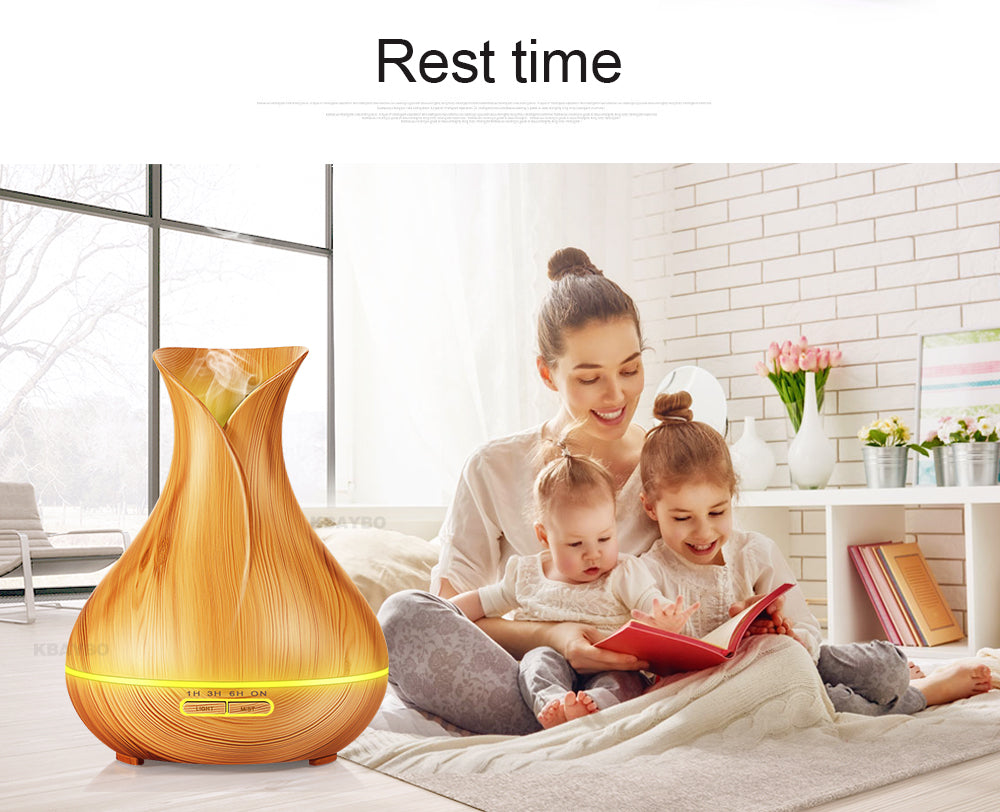 Ultrasonic Aroma Essential Oil Diffuser Humidifier