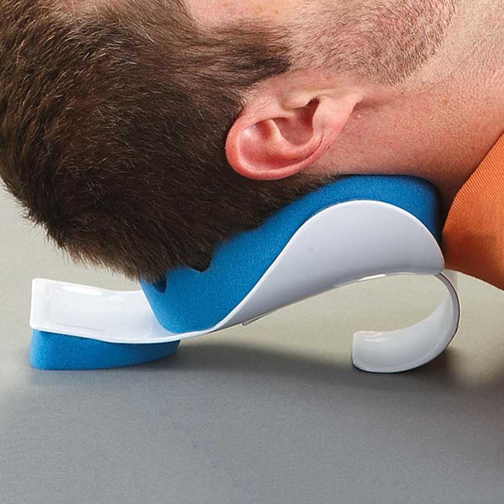 Limited Edition Travel Therapeutic Neck and Shoulder Pillow Relaxer