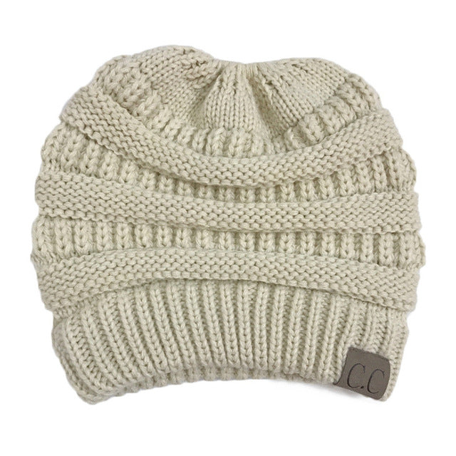 Ponytail Beanie Hats For Women