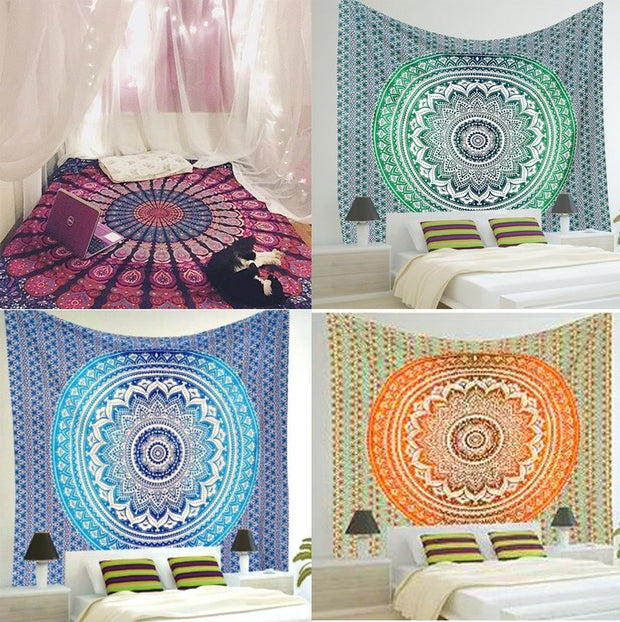 Multi-functional Mandala Tapestry Wall Hanging Yoga Mat