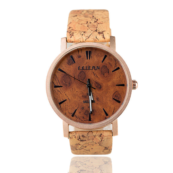 Roségold Walnut Watch