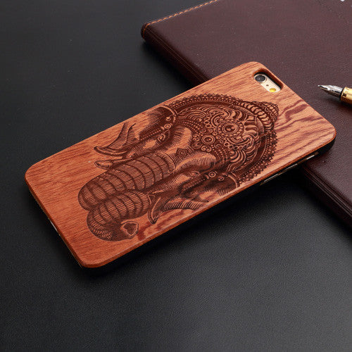 """Elephant"" Wood Case"