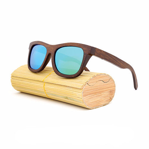 Sunglasses Dark Bamboo