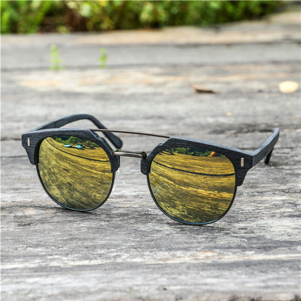 "Clubmaster Sunglasses ""Paul"" yellow"