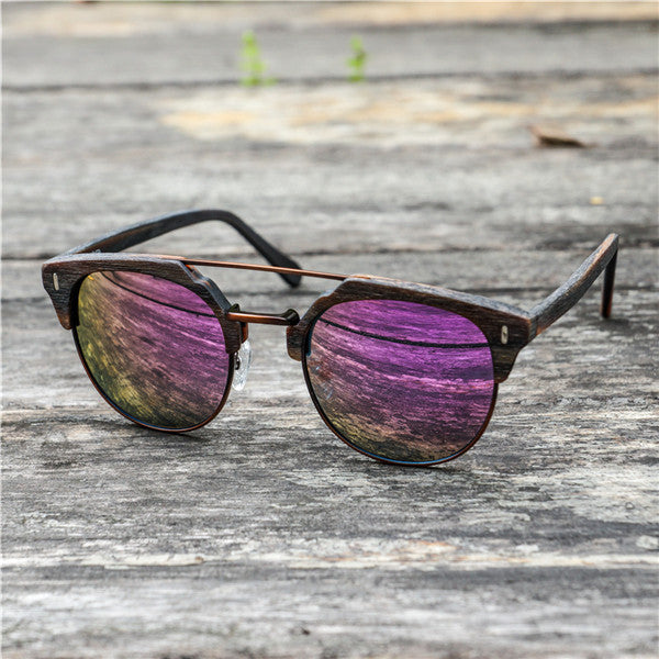 "Clubmaster Sunglasses ""Paul"" purple"