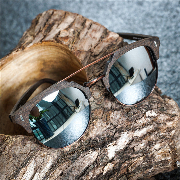 "Clubmaster Sunglasses ""Paul"" silver"