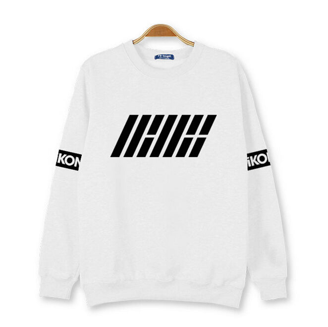 2015 autumn new arrival kpop new idol group ikon first album hoodies
