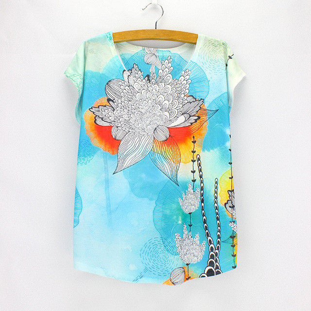 Bulldog photos print t-shirt female summer dresses 2016 fashion ladies top tees shot sleeve O-neck shirts wholesale freeshipping - Jessikas Tops