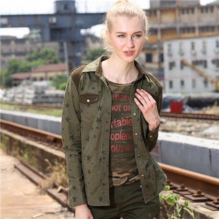 Brand Quality Women Shirts Autumn Casual Cotton Long Sleeve Womens Blouses & Shirts Turn-down Collar Women's Clothing GS-8203 - Jessikas Tops