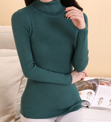 Cashmere Sweater Women Turtleneck Pullover Ladies sweaters Shirt Hot Sale Wool knitted sweater Female Warm Tops Sale Clothing - Jessikas Tops