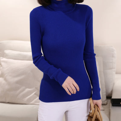 Cashmere Sweater Women Turtleneck Pullover Ladies sweaters Shirt Hot