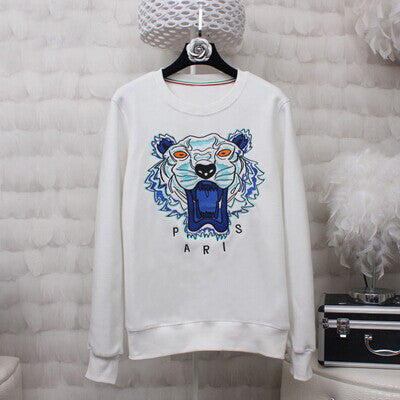 BringBring 2017 Spring Fashion Women Tiger Head Embroidery Sweatshirts Women Causal Pullovers Long Sleeve 1804 - Jessikas Tops