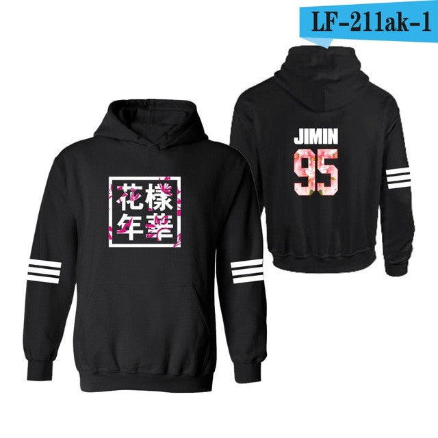 BTS Bangtan Boys kpop Hoodies and Sweatshirts 2017 women hoodies bts