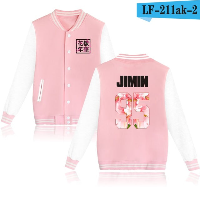 BTS young forever jackets Jungkook sweatshirts long sleeve hoodies