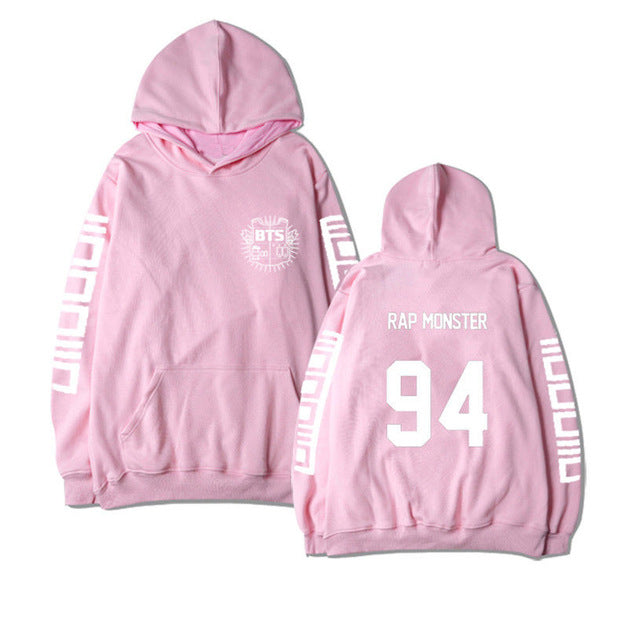 ALLKPOPER Kpop BTS In Bloom Pink Hooded Hoodie Sweatershirt Unisex