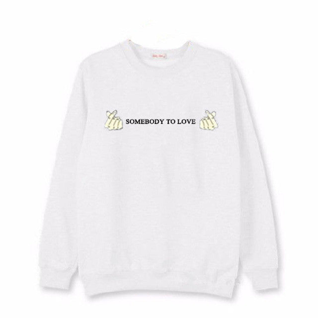 BTS Kpop Sweatshirt Women Korean Popual Bangtan Boys Autumn Winter BTS