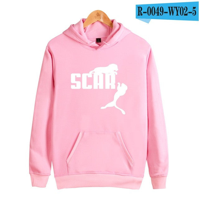 BTS Scar Women Hoodies Sweatshirts Brand Cotton Long Sleeve Hoodies