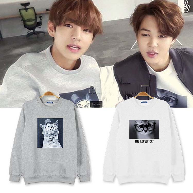 2016 New Sailor Moon Jumpers T Bts Jimin Jungkook Long Sleeve
