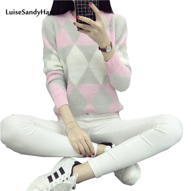 2017 Female Pullovers Winter Sweater Fashion Women Spring Autumn