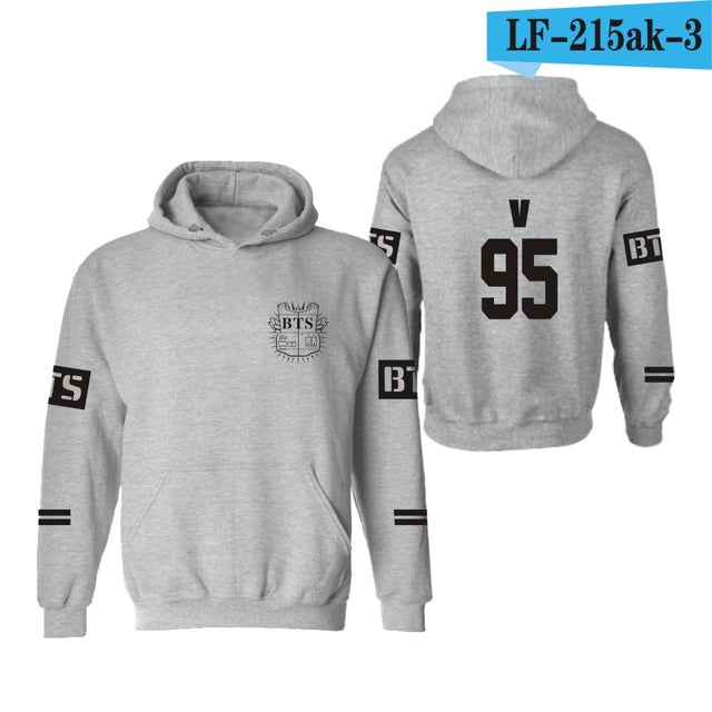 BTS Hoodies Women Kpop BTS Bangtan Boys sweatshirt Womens and men