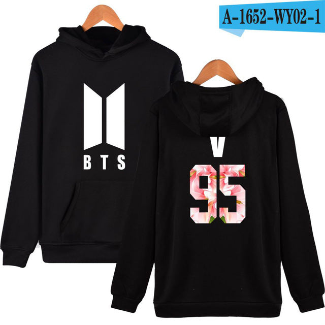BTS Kpop Moletom Harajuku Hoodies Women/men Popular Bangtan boys Hip
