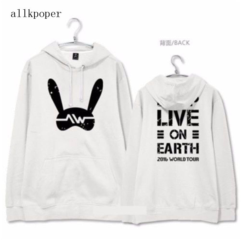 ALLKPOPER KPOP BAP Hooded Hoodie Sweatershirt 2017 Kawaii Unisex