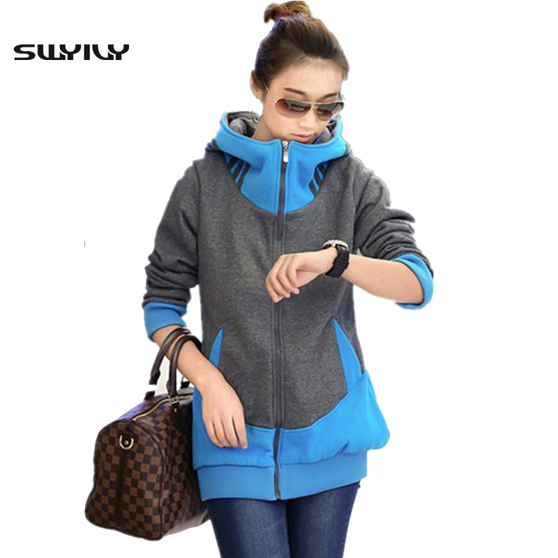 2017 New Casual Sweatshirts Large Size 3XL Long Autumn Winter Plus