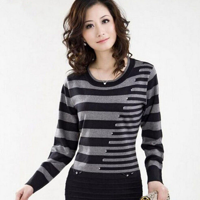2017 new Spring Long Pullovers Women Sweater Dress High Quality