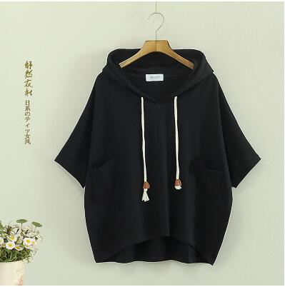 2016 Korea style Summer new fashion women Hoodies Hooded pullover