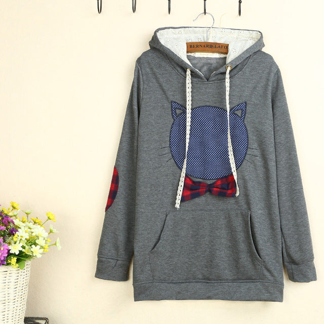 2016 hoodie Sweatshirt women Autumn Sen female small fresh and