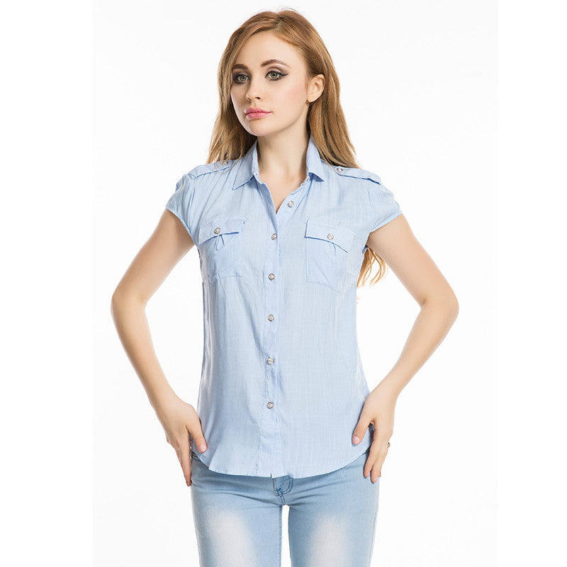 Brand Summer Women Tops And Blouses 2016 New Fashion XXL Plus