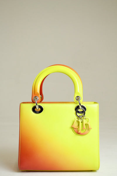 Dior Lady Dior Ombre Yellow