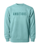 PHENOMENALLY SOFT CREWNECK SWEATSHIRT (MINT) - AMBITIOUS